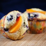 Blueberry Apricot Muffins