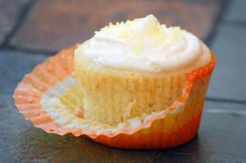 Orangina Cupcake