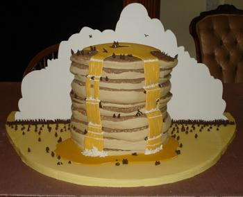 Threadcakes Pancake Cake