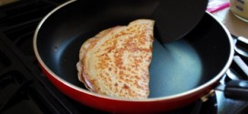 French Ham, Cheese and Egg Crepes, step-by-step