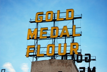 Gold Medal Flour sign