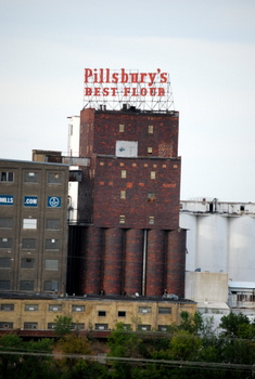 Pillsbury Flour sign