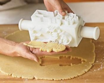Twist And Press Robot Cookie Cutters