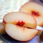 White Peach Slices