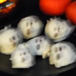 Spooky Peanut Butter Puff Truffles