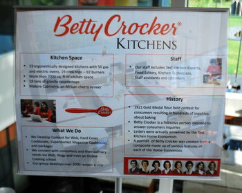 Betty Crocker test kitchen