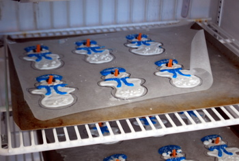 Test Kitchen snowmen