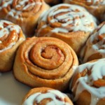 White Whole Wheat Cinnamon Rolls