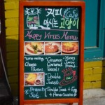 Happy virus Menu