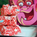 Frankenberry Cereal Bars