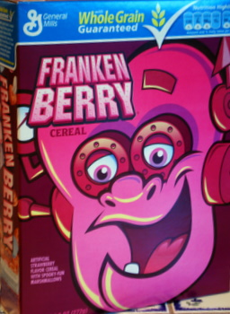 Frankenberry Cereal Box