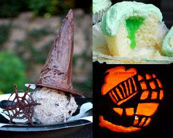 Halloween Baking how-to's
