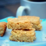 Maple Coconut Blondies