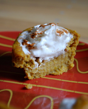 Pumpkin Pie Cupcake, center shot