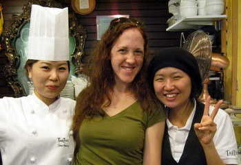Me and the Tartine Staff