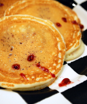 Vampire Pancakes