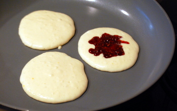 Vampire Pancakes in progress