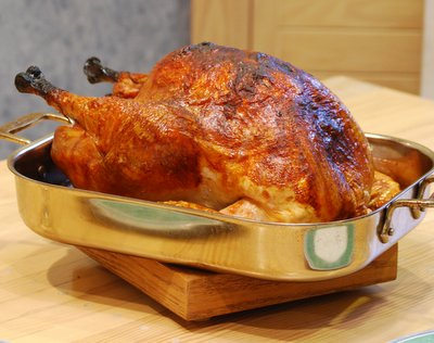High Heat Turkey Method
