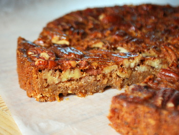 Honey, Date, And Pecan Tart Recipe — Dishmaps