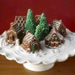 Snowy Village Cake Pan