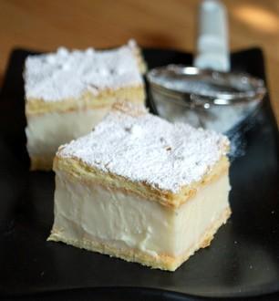 Vanilla Slice Baking Bites