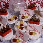 Tracycake's Cola Snowglobe Cupcakes