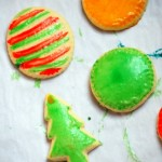 Shiny Ornament Cookies