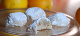Orange and Clove Snowball Cookies