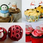 Holiday Cupcake Contest entries