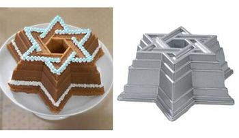 Star of David Bundt Cake Pan