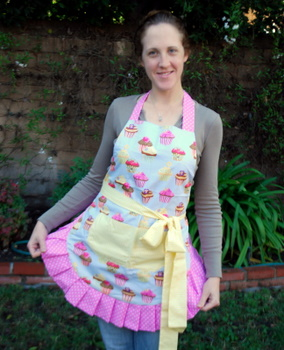 Flirty Aprons' Frosted Cupcake Apron