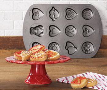 Wilton Valentine Cookie Pan