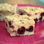Cinnamon Cherry Coffee Cake