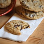 Salted Dark Chocolate Chunk Cookies