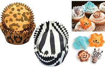 Safari Cupcake Wrappers
