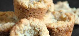 Coconut Toffee Oatmeal Cookie Bites