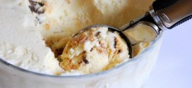 Homemade Samoas Ice Cream