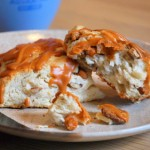 Butterscotch Pecan Scones, innards
