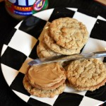 Toffee Peanut Butter Sandwich Cookies