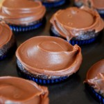Chocolate Cupcakes with Milk Chocolate Frosting