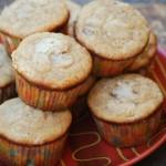 Gluten Free Banana Pecan Muffins