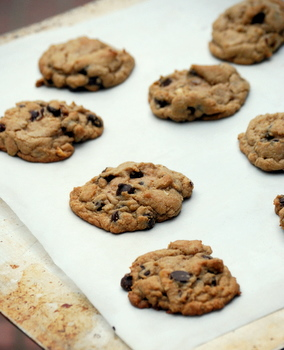 Hazelnut Chocolate Chip Cookies