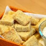 Parmesan Shortbread Squares