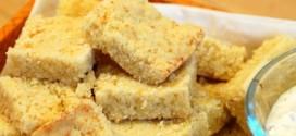 Savory Parmesan Shortbread Squares