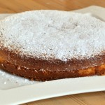 Saffron and Olive Oil Cake