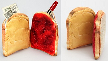 peanut butter & jelly pouch