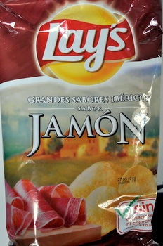 Food From Spain Ham Flavored Chips Baking Bites