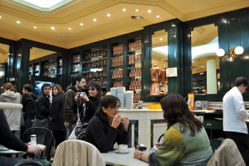 Chocolateria San Gines, interior