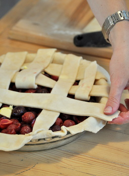 Lattice Top Pie Crust