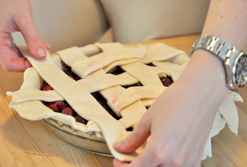 Lattice Cherry Pie